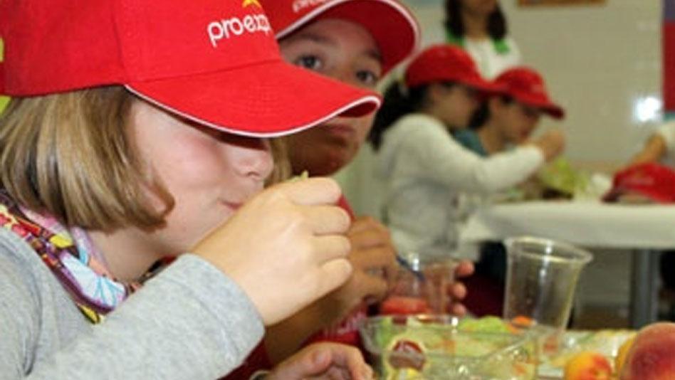 Promoción del consumo de frutas y hortalizas entre los escolares de Murcia
