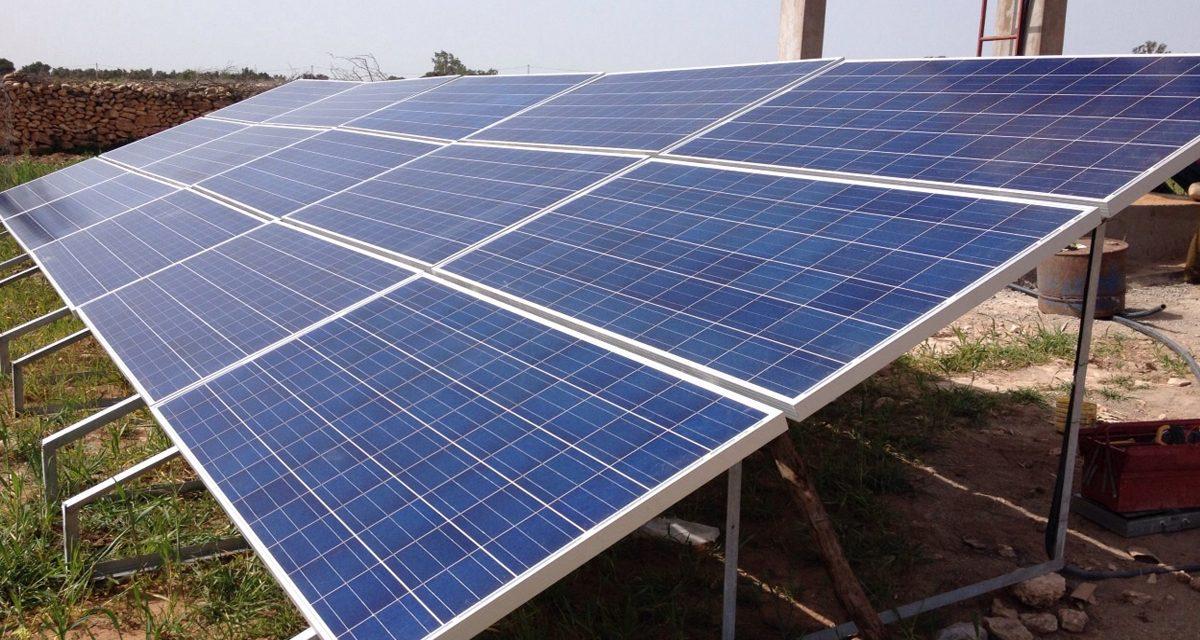 Subvenciones para la instalación de placas solares en comunidades de regantes