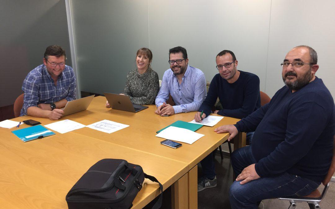 El Grupo Operativo Aprovechamiento de Restos de Poda prepara los trabajos técnicos